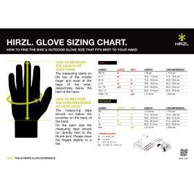 Rukavice Hirzl Grippp light FF - černá/bílá