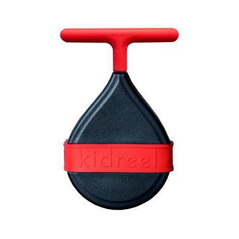Naviják pro dětská kola Kidreel - červený